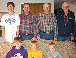 4 Generations of the Line Family